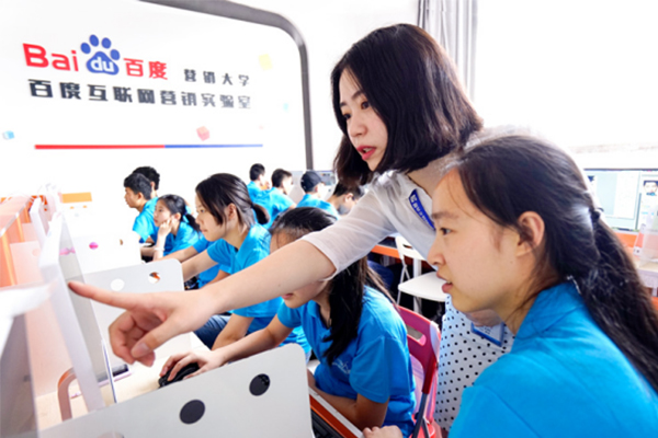 """【中国网报到】新华教学质量怎么样?新华培养""""实战型""""技能人才"""